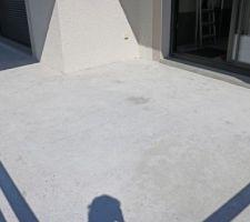Balcon poncé