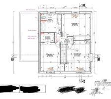 Plan définitif Etage