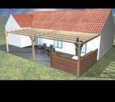 Plan abris terrasse