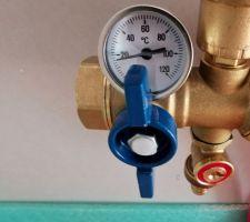 Collecteur eau chaude, eau froide