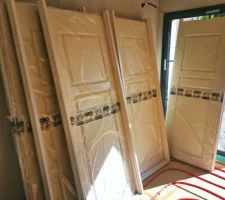 Porte en bois avec moulure - RIGHINI NEOLYS