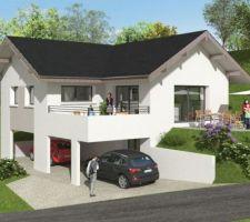 [MàJ - 12/07/2020] - Projection 3D de notre future maison.
