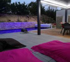 Terrasse granite et ip