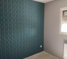 Papier peint chambre de maman
