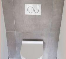 WC haut suspendu et encastré Geberit