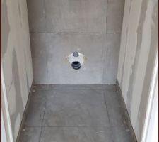 WC haut encastré