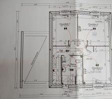 Plan exécution 1er étage