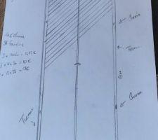 Creation porte placard claustra
