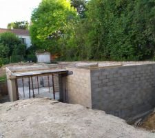 Murs du sous-sol terminés
