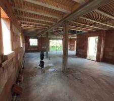 Encore une photo de l'intérieur pour montrer la propreté du chantier