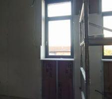 Fenêtres chambres jumelles