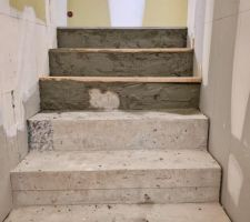 Rectification escalier