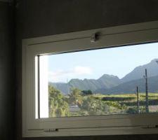 Notre petite vue montagne