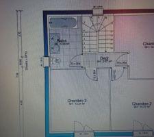 Plan maison du bas etage