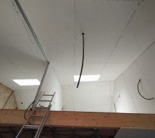 Mezzanines des chambres