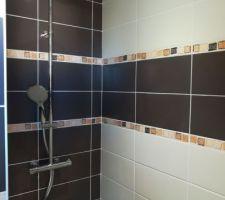 Colonne douche à l'italienne sdb étage
