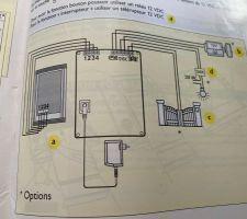Schéma de câblage de mon interphone Extel VPPL A 2000 LM