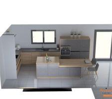 Visuel 2 _ plan définitif cuisine, couleurs plus claires sur papier qu'en vrai
