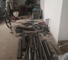 Bazar suite travaux isolation