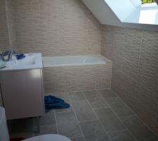 Salle de bain terminé.