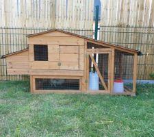 Maisonnette des poulettes en place!