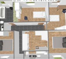 Modif personnelle étage 3D