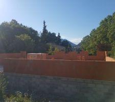 L'élévation des murs