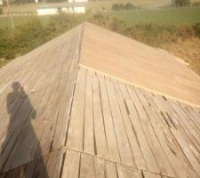 Sarking , panneaux fibres de bois 40 mm