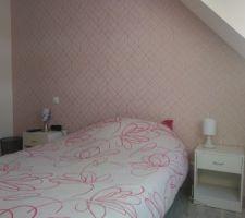 Décoration papier peint chambre de la grande