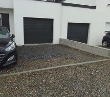 Muret pour clôture devant la maison