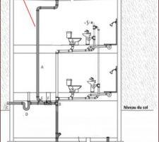 Plan installation wc