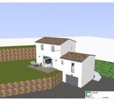 Plan extérieur 3D