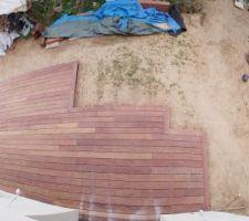 Terrasse quasi terminée