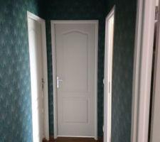 La tapisserie du couloir