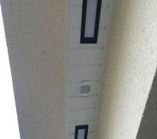 Eclairage extérieur avec détecteur de luminosité