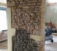 Gobetis mur du couloir