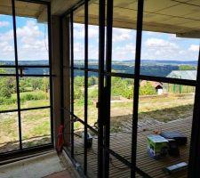 Voici notre future salle de SPA SAUNA .....Home made bien sûre - 60 carreaux à poser .....ARF