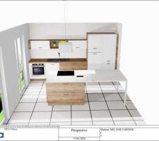 Proposition d'un plan de cuisine