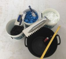 Le kit du parfait petit carreleur, croisillons autonivelant