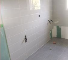 Salle de bains, où sont les platines ????