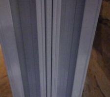 Extérieur fenêtre coulissante alu, double profil