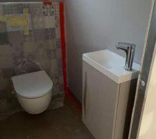 Toilettes RDC