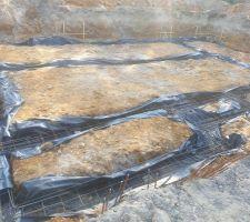 ferraillage des fondations en cours