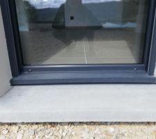 """Photo deuxième porte fenêtre fixe installé - Nous avons l'impression sa """"gondole"""" encore"""