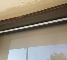 Mauvaises dimensions prises par le menuisier, fenêtre pas assez haute