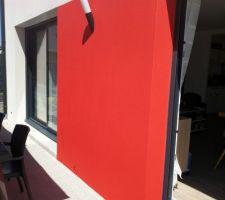 Après un temps de préparation et 2 couches de peinture façade. Ouah!!! Je retrouve le cachet de ma maison!!