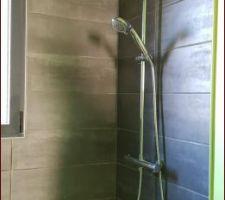 Salle d'eau en cours