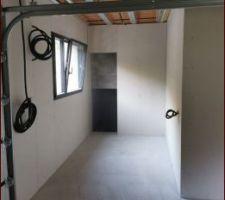 L'atelier dans le garage