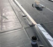 Etanchéité EPDM (Pontage des deux bâches du toit terrasse)