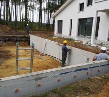 Déplacement et installation des murs